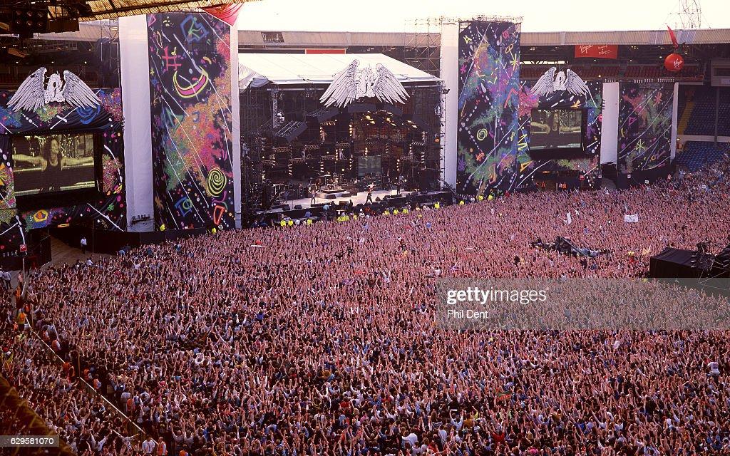 Freddie Mercury Tribute : Nachrichtenfoto