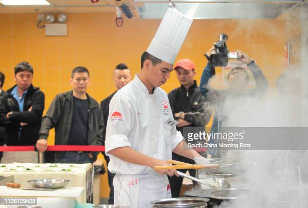General view of Lee Kum Kee International Young Chef Chinese Culinary Challenge Final cooking competition at Pok Fu Lam 06MAR14 [MAR2014 LIFE...