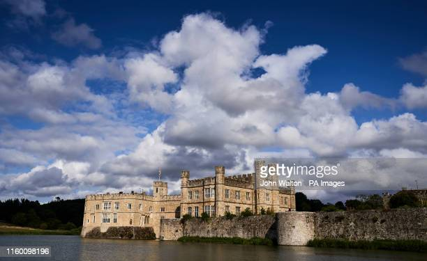General view of Leeds Castle in Kent, which celebrates it's 900 year anniversary this year.