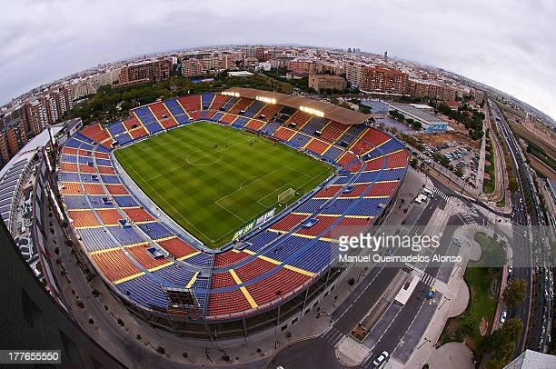 General view of Levante UD Stadium Ciutat de Valencia before the La Liga match between Levante UD and Sevilla FC at Ciutat de Valencia Stadium on...