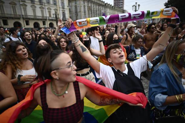 ITA: Turin Celebrates LGBTQ+ Pride Parade