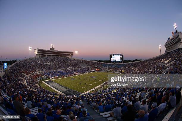 A general view of Liberty Bowl Memorial Stadium during a game between the Southeast Missouri Redhawks and the Memphis Tigers on September 3 2016 at...