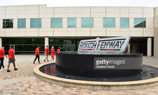 General view of Liverpool during a tour of Roush Fenway Racing on July 21 2018 in Charlotte North Carolina