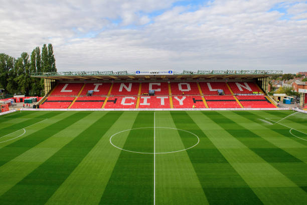 GBR: Lincoln City v Charlton Athletic - Sky Bet League One
