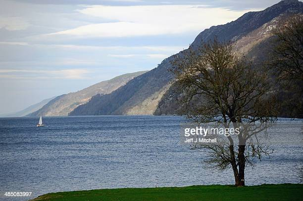 A general view of Loch Ness from Fort Augustus on April 16 2014 in Scotland A referendum on whether Scotland should be an independent country will...