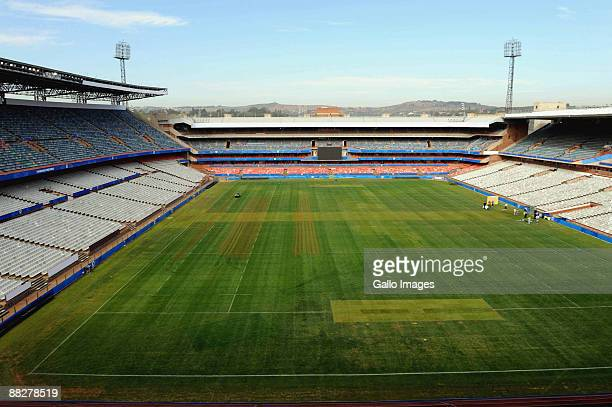 A general view of Loftus Versfeld Stadium on June 07 2009 in Pretoria South Africa