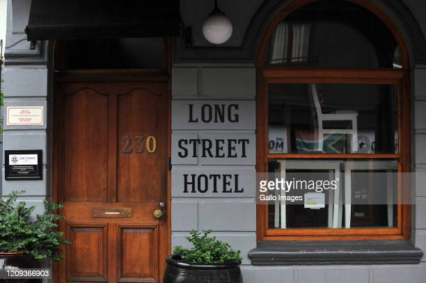 A general view of Long Street Hotel on Day Twelve of National Lockdown on April 07 2020 in Cape Town South Africa According to media reports...