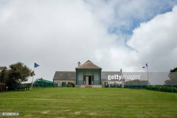 A general view of Longwood House the building which was the home of exiled French Emperor Napoleon Bonaparte until his death in 1821 on October 26...