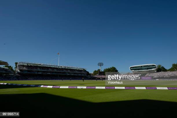 General view of Lord's during the Royal London One-Day Cup match between Hampshire and Kent at Lord's Cricket Ground on June 30, 2018 in London,...