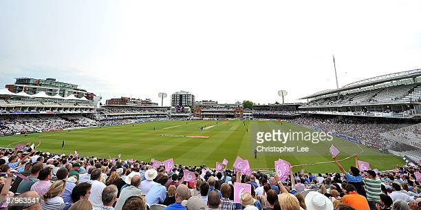 A general view of Lord's during the Twenty20 Cup match between Middlesex and Surrey at Lords on May 25 2009 in London England