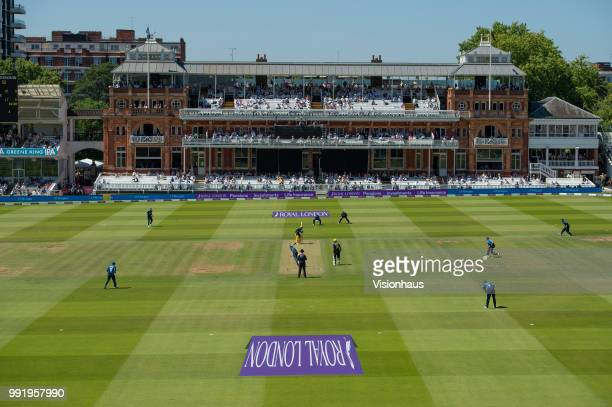 General view of Lord's showing the pavillion during the Royal London OneDay Cup match between Hampshire and Kent at Lord's Cricket Ground on June 30...