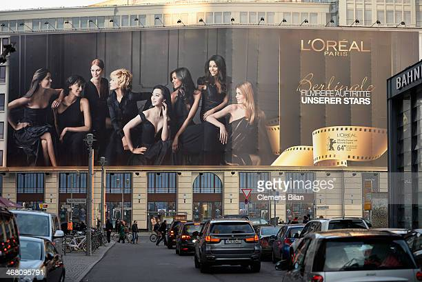 A general view of L'Oreal at the 64th Berlinale International Film Festival on February 9 2014 in Berlin Germany