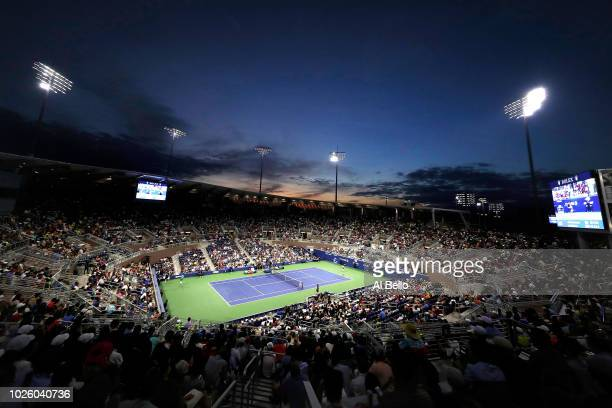 A general view of Louis Armstrong Stadium during the men's singles third round match between Alexander Zverev of Germany and Philipp Kohlschreiber of...