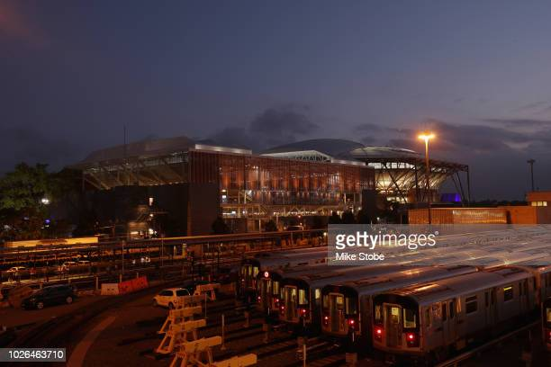A general view of Louis Armstrong Stadium on Day Seven of the 2018 US Open at the USTA Billie Jean King National Tennis Center on September 2 2018 in...