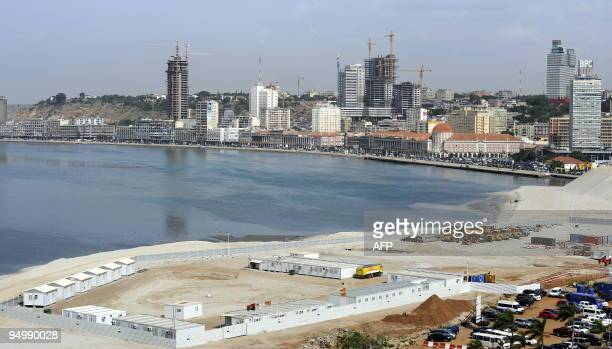 A general view of Luanda Central Business District is pictured in Luanda on December 21 2009 The OPEC oil producers' cartel will hold output quotas...