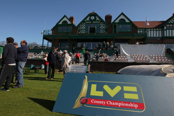 A General View Of LV Signage In Front The Pavilion At Aigburth