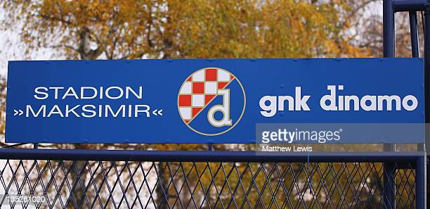 A general view of Maksimir Stadium on December 7 2011 in Zagreb Croatia