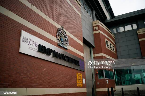 A general view of Manchester Prison where prison officers are staging a 'walkout' on September 14 2018 in Manchester England The Prison Officers...
