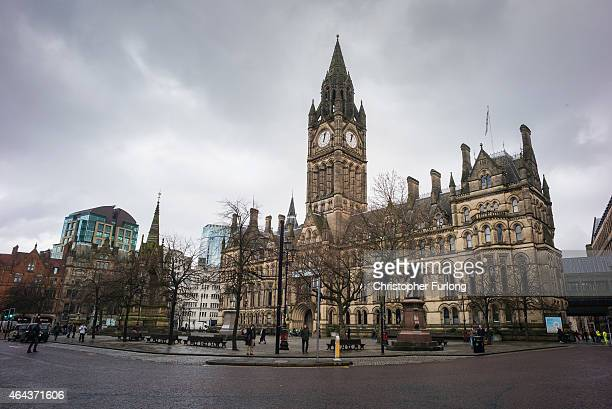 A general view of Manchester Town Hall after it was announced that local councils in Manchester will control their own National Health Service budget...