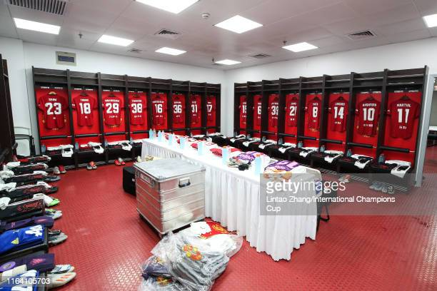 2 187 Manchester United Dressing Room Photos And Premium High Res Pictures Getty Images