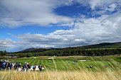 auchterarder scotland general view match group