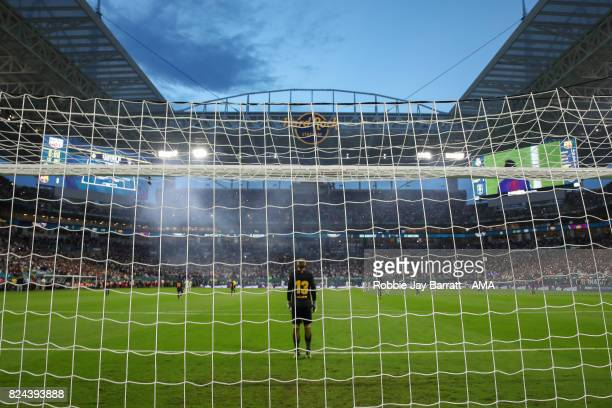 General view of match action at Hard Rock Stadium home stadium of Miami Dolphins during the International Champions Cup 2017 match between Real...