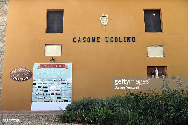 General view of Matchless E Bike Presentation on June 5 2016 at Casone Ugolino in Castagneto Carducci near Livorno Italy