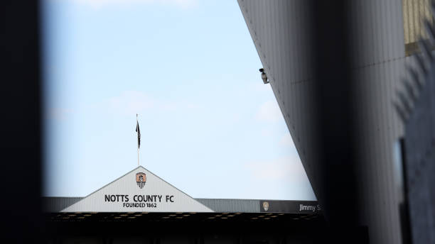 GBR: Notts County v Oxford City - FA Trophy Quarter Final