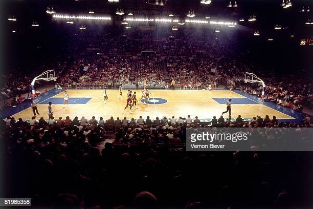 General view of Mecca Arena, home of the Milwaukee Bucks, during the 1970 season at the MECCA Arena in Milwaukee, Wisconsin. NOTE TO USER: User...