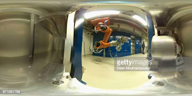A general view of MEDICIS which is under construction during a behind the scenes tour at CERN the World's Largest Particle Physics Laboratory on...