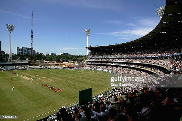 A general view of Melbourne cricket ground during the First day of the Boxing Day test match between Australia and Pakistan at the Melbourne Cricket...