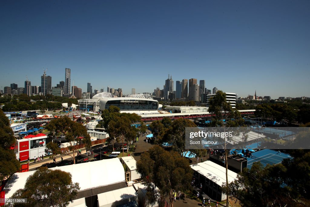 2019 Australian Open - Day 1 : News Photo
