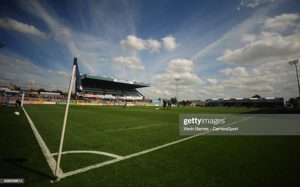 A general view of Memorial Stadium, home of Bristol Rovers FC during the Sky Bet League One match between Bristol Rovers and Fleetwood Town at Memorial Stadium on August 26, 2017 in Bristol, England.