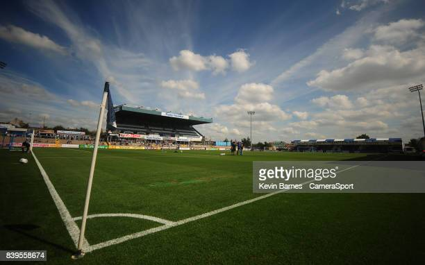 A general view of Memorial Stadium home of Bristol Rovers FC during the Sky Bet League One match between Bristol Rovers and Fleetwood Town at...