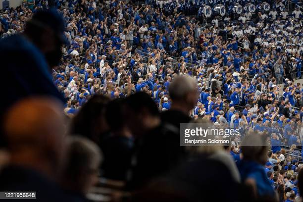 A general view of Memphis Tigers fans during the Goodyear Cotton Bowl Classic at ATT Stadium on December 28 2019 in Arlington Texas