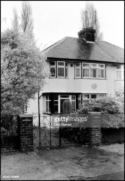 General view of 'Mendips' 251 Menlove Avenue where John Lennon lived in childhood with his Aunt Mimi Liverpool circa 2000