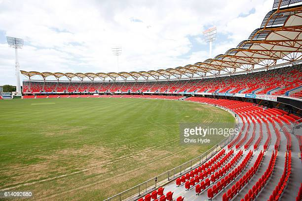 General view of Metricon stadium which will host the Opening and Closing ceremonies and Athletics during the Gold Coast 2018 Commonwealth Games on...