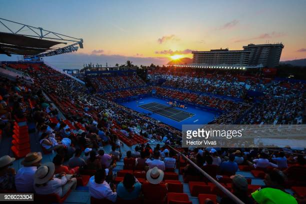 General view of Mextenis Stadium as part of the Telcel ATP Mexican Open 2018 on February 28 2018 in Acapulco Mexico