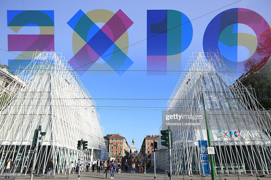 Last Preparation Works - Expo 2015 : News Photo