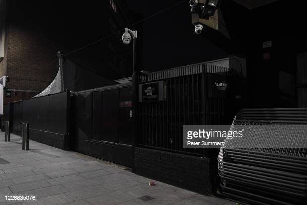 General view of Ministry of Sound nightclub on October 1, 2020 in London, England. Nightclubs are fighting to stay open following the coronavirus...