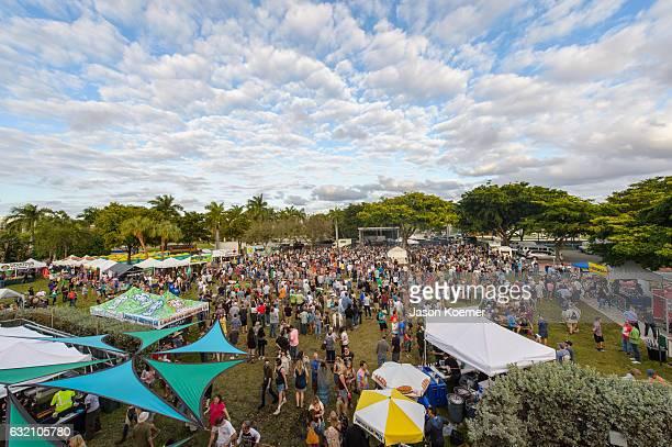 General View of Mizner Park Amphitheater on January 15 2017 in Boca Raton Florida
