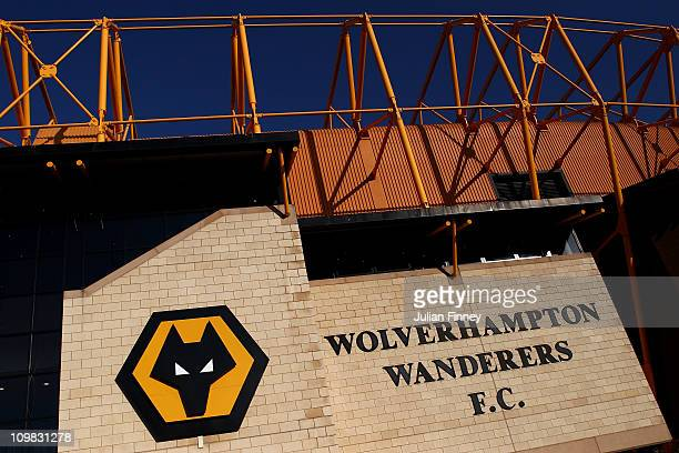 A general view of Molineux ahead of the Barclays Premier League match between Wolverhampton Wanderers and Tottenham Hotspur at Molineux on March 6...