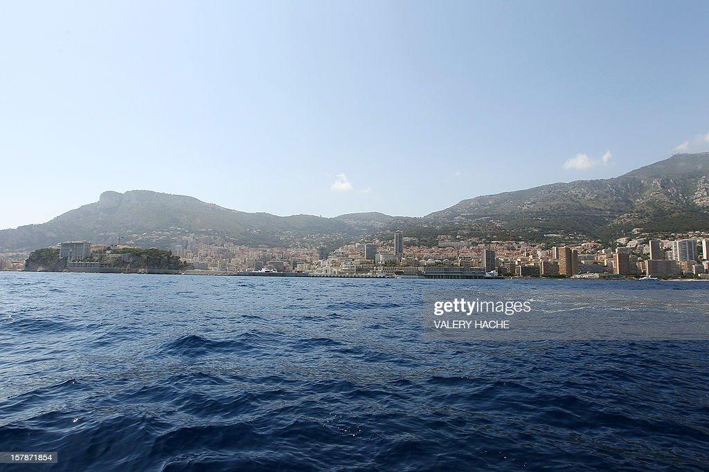 General view of Monaco taken on June 20, 2011 in Monaco.