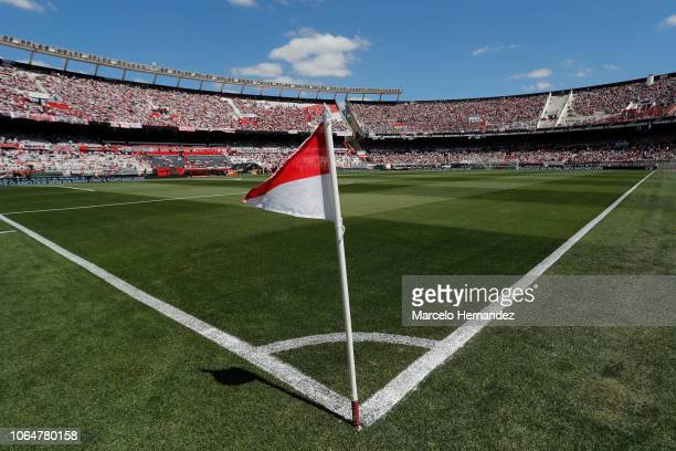 General view of Monumental Stadium of River Plate before the second leg final match of Copa CONMEBOL Libertadores 2018 between River Plate and Boca...