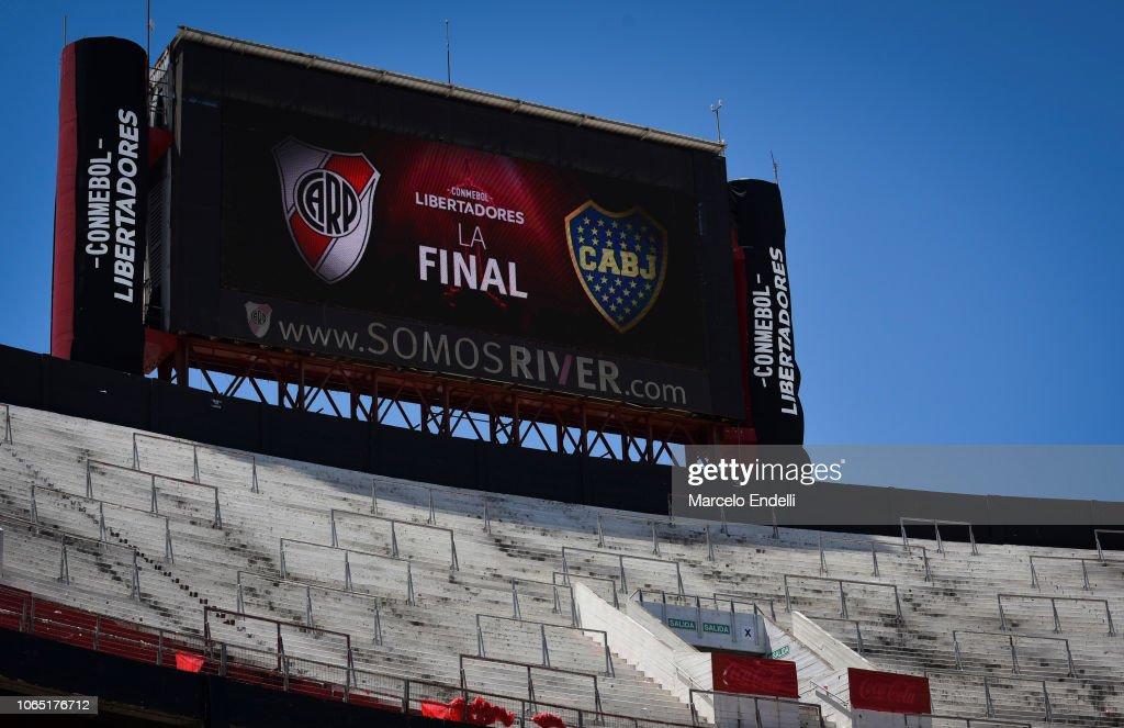 River Plate v Boca Juniors - Copa CONMEBOL Libertadores 2018 : Fotografia de notícias