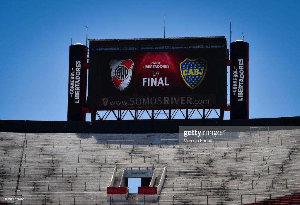 River Plate v Boca Juniors - Copa CONMEBOL Libertadores 2018 : News Photo