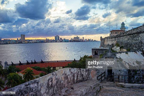 A general view of Morro Castle on December 16 2014 in Havana Cuba