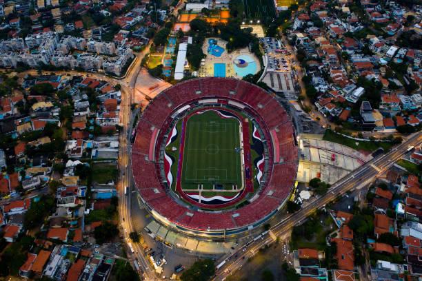 BRA: Brasileirao Series A: Sao Paulo v Flamengo Play Behind Closed Doors Amidst the Coronavirus (COVID - 19) Pandemic