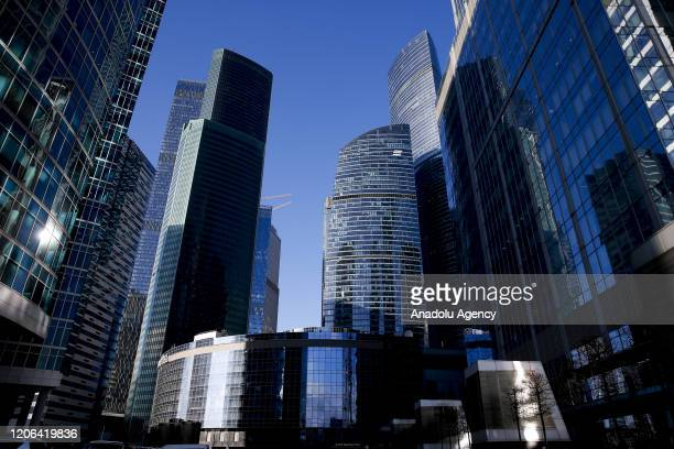 General view of Moscow City in Moscow, Russia, on March 2020. Saudi Arabia-led OPEC and Russia-led non-OPEC failed Friday to agree to further cut...