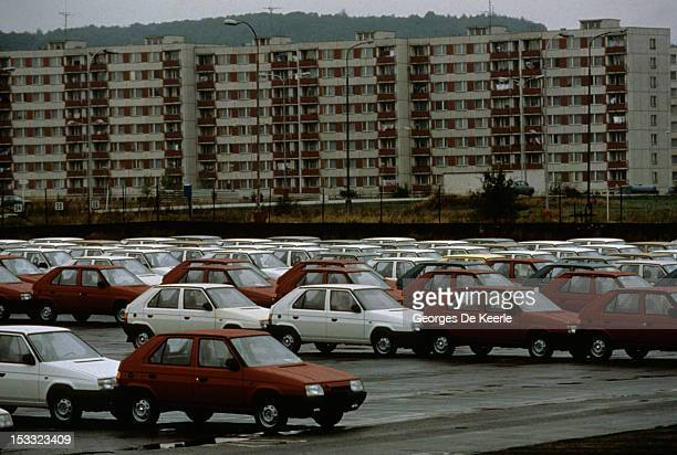 A general view of Moscow during the visit of British Prime Minister Margaret Thatcher to the city 1st April 1987